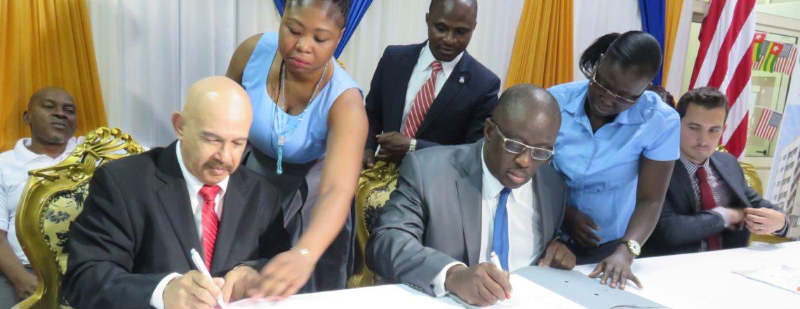 EducationUSA helps broker partnership between American and Togolese universities
