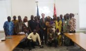 Ambassador' Special Self Help Program Second Advance Checks Handover Ceremony Group photo