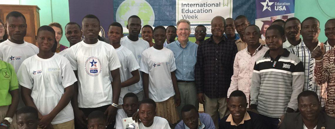 Celebrating International Education Week in Togo