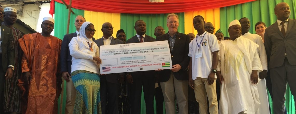 Embassy Promotes Social Cohesion in Sokode