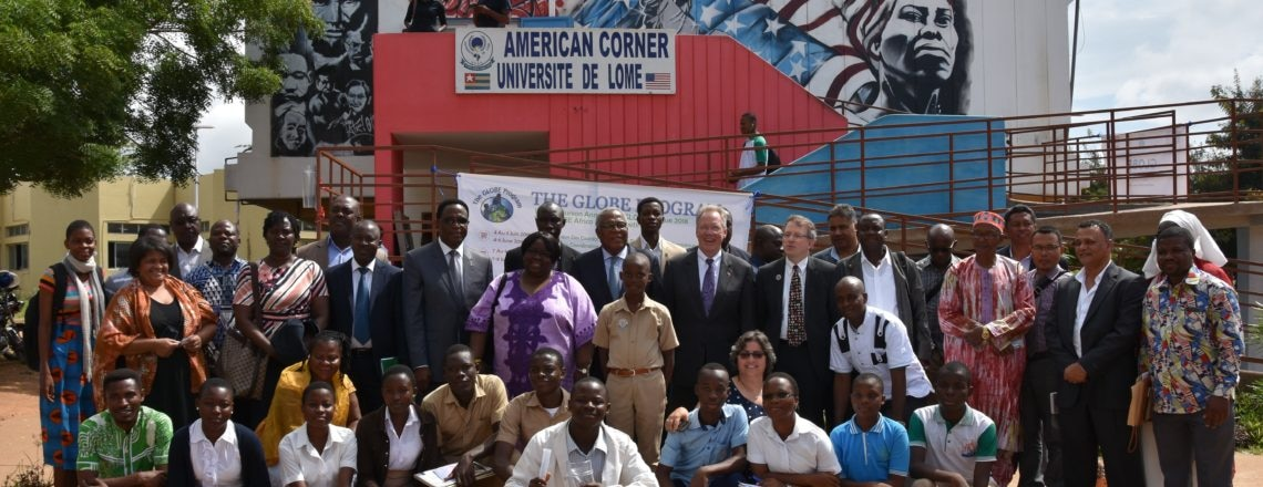 Le programme GLOBE forme les futurs scientifiques du Togo