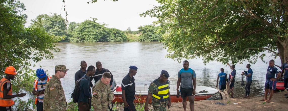 U.S. Military Helps Togo Prepare for Natural Disasters
