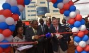 Voice of America-Ribbon cutting